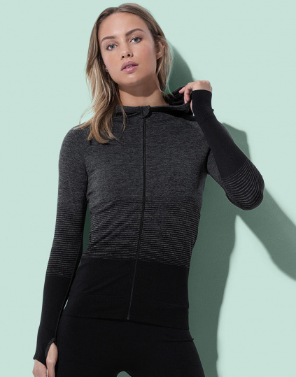 Chaqueta Active Mujer sin costuras (ST8920)