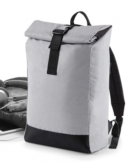 Mochila reflectante Roll-Top (BG138)