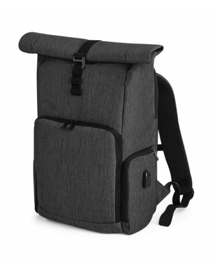 Mochila Roll-Top Q-Tech Charge (QD995)