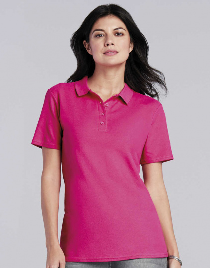 Polo doble piqué Softstyle® mujer (64800L)