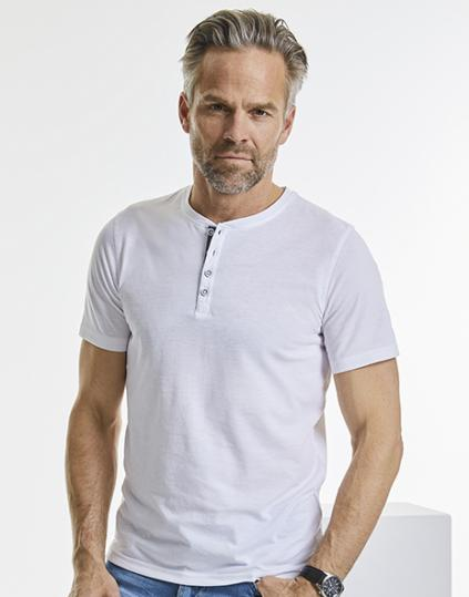 Men`s Henley HD T - R-168M-0(168.00)