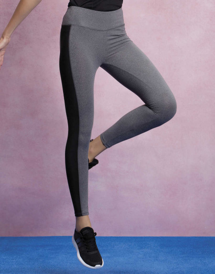 Legging contrastado de mujer Fashion Fit (KK944)