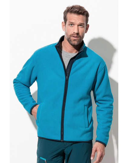 Active Teddy Fleece Jacket Chaqueta fleece para hombres