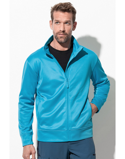 Active Bonded Fleece Jacket Chaqueta fleece para hombres