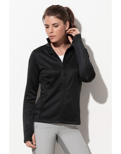 Active Bonded Fleece Jacket Chaqueta fleece para mujeres